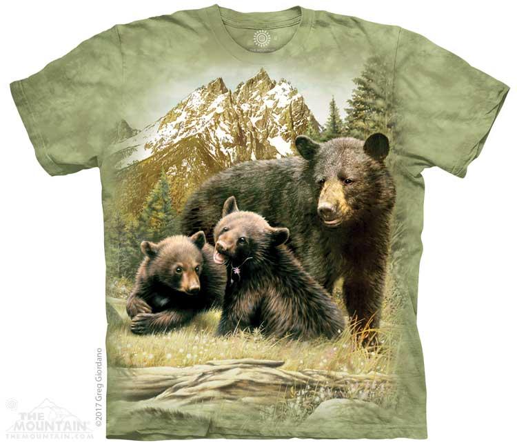 Dětská Trička Medvědi