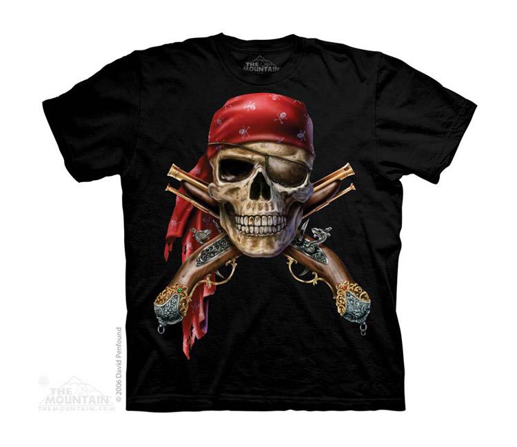 Dětská Trička s Pirátama