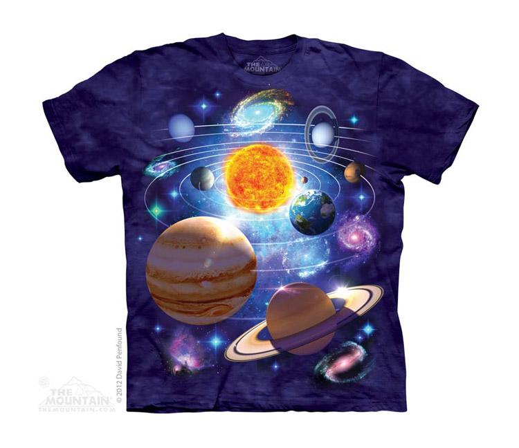 Dětská Trička Vesmír
