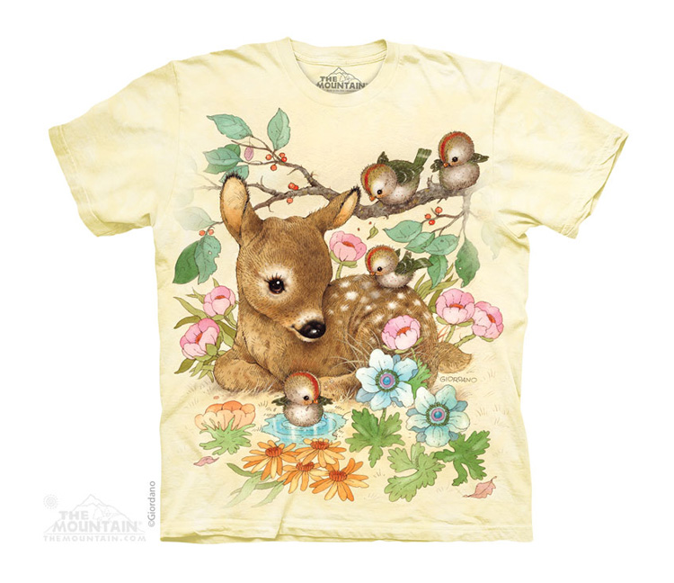 Dětská Trička Divoká lesní zvěř