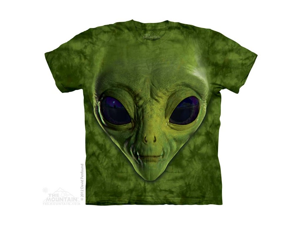 Tričko Zelený Ufon