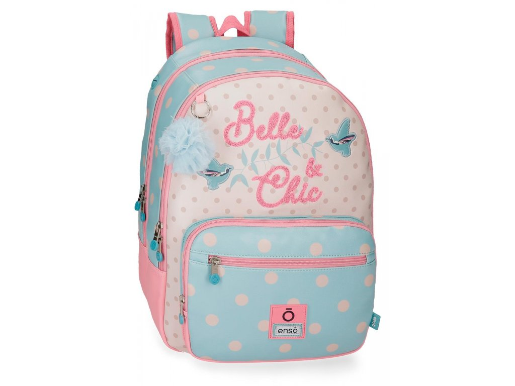 Batoh dvoukomorový Enso Belle & Chic