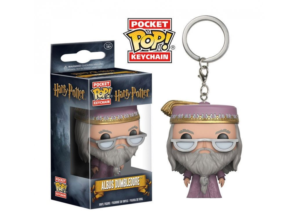 Harry Potter - Brumbál - klíčenka - pocket POP