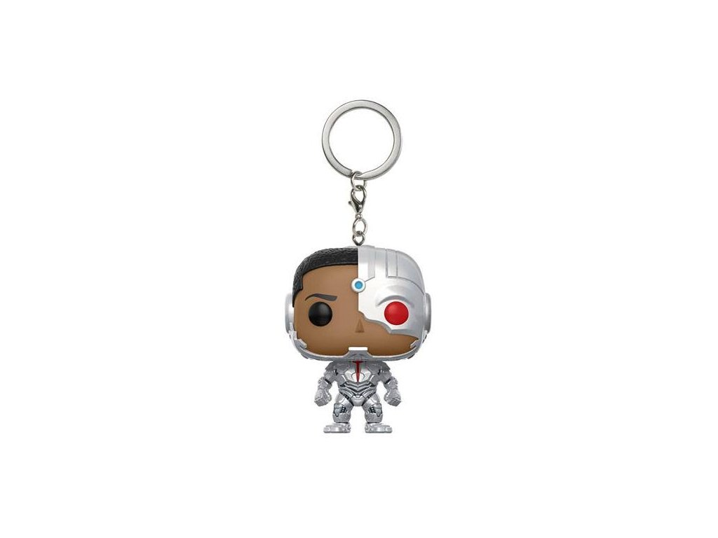 Justice League - klíčenka Cyborg - pocket POP