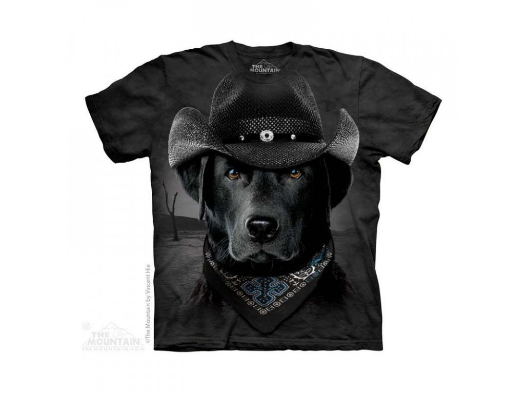 Tričko Pes Cowboy