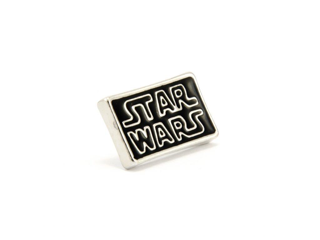 Star Wars odznak - Hvězdné války - stříbrný