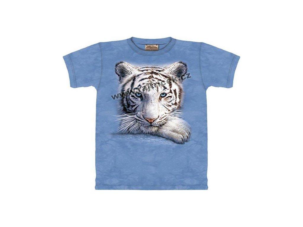 Tričko Resting Tiger - Dětské - 2017