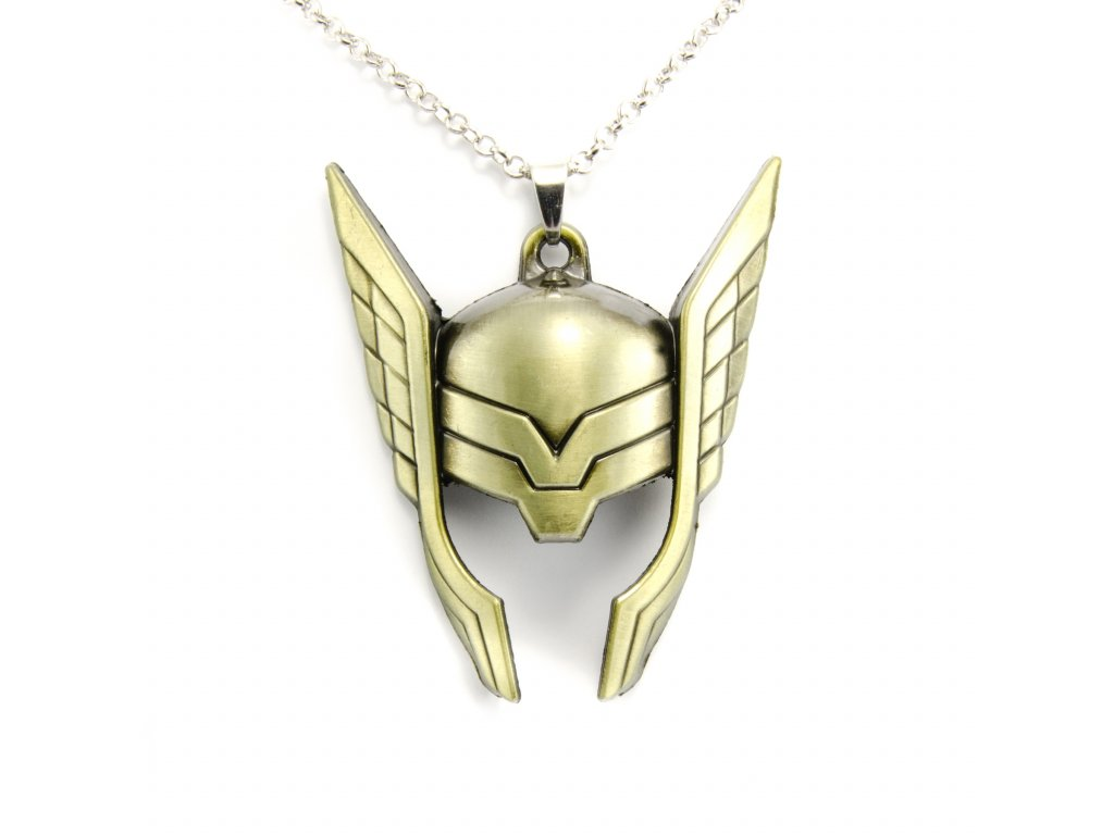 Náhrdelník Thor - Thorova helma - Avengers