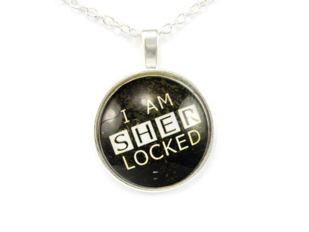 Náhrdelník Sherlock Holmes - I Am Sher Locked