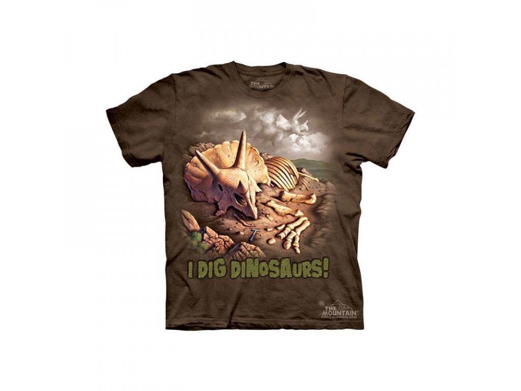 Tričko Kostra Dinosaura - Dětské - 2017
