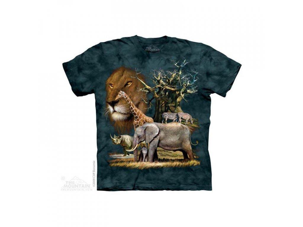 Tričko Africká Zvířata - Dětské - 2017