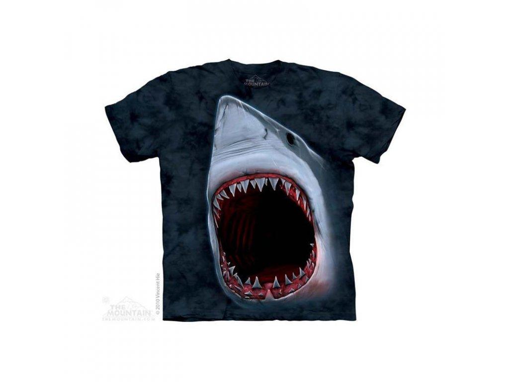 Tričko Bílý Žralok - Dětské