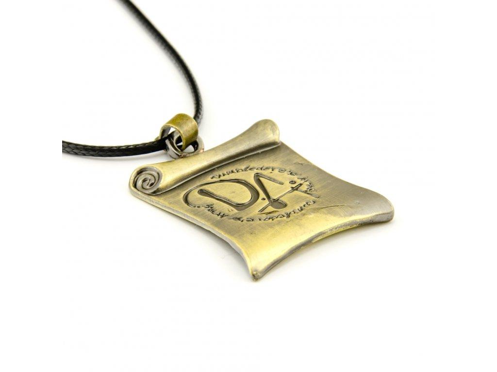 Harry Potter náhrdelník brumbálova armáda