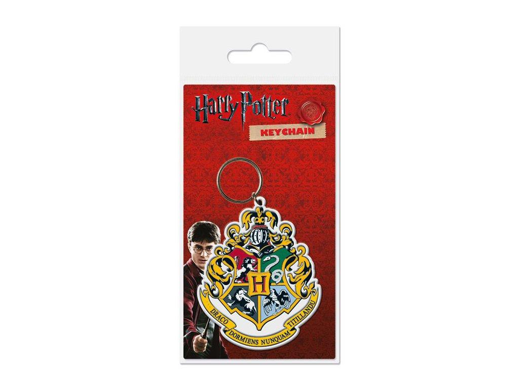 Harry Potter klíčenka erb Bradavic