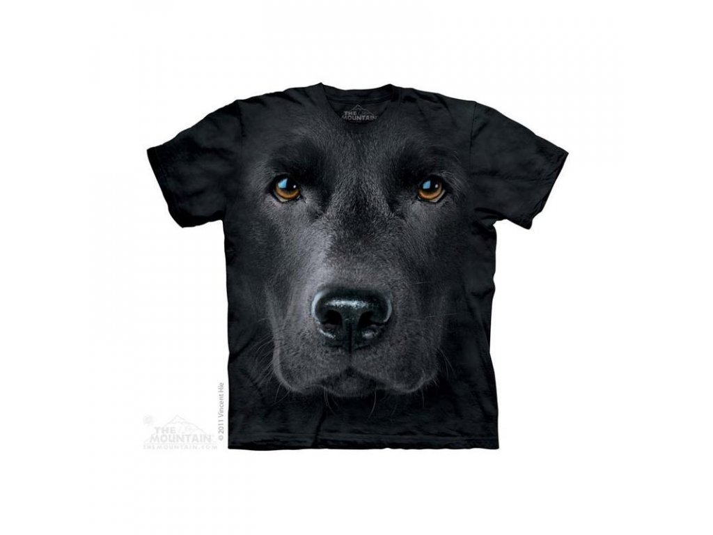 Tričko Černý labrador - Dětské