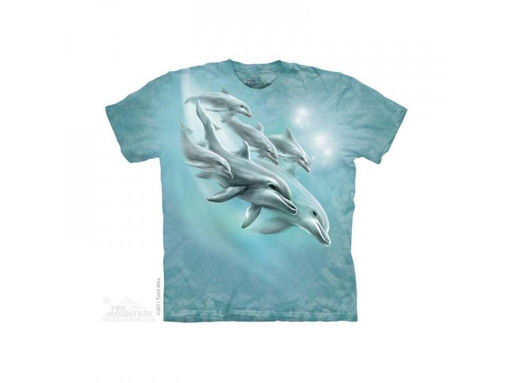 Tričko Delfíni - Dětské - 2017