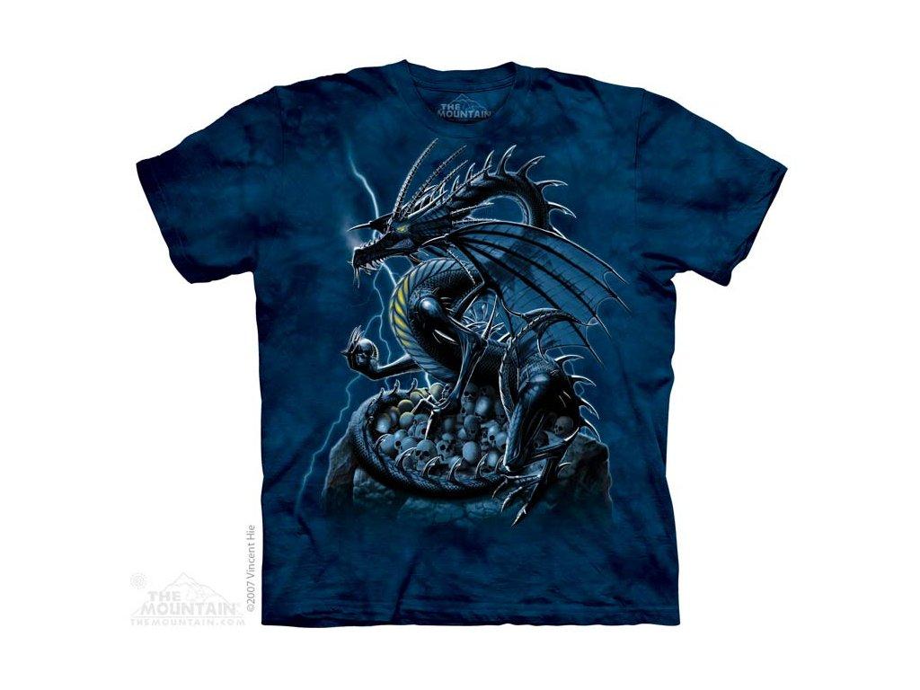 Tričko Skull Dragon