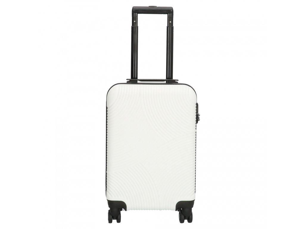 Kufr na kolečkách Enrico Benetti - bílý