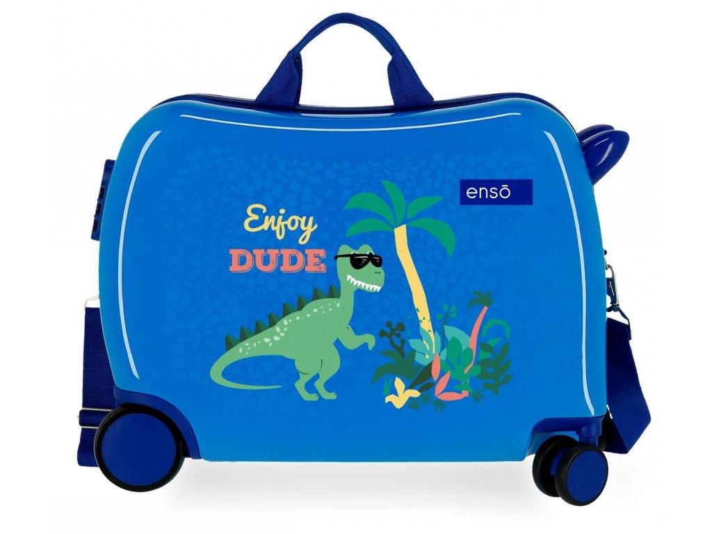 Dětský kufřík na kolečkách - odražedlo - Enso Enjoy Dude
