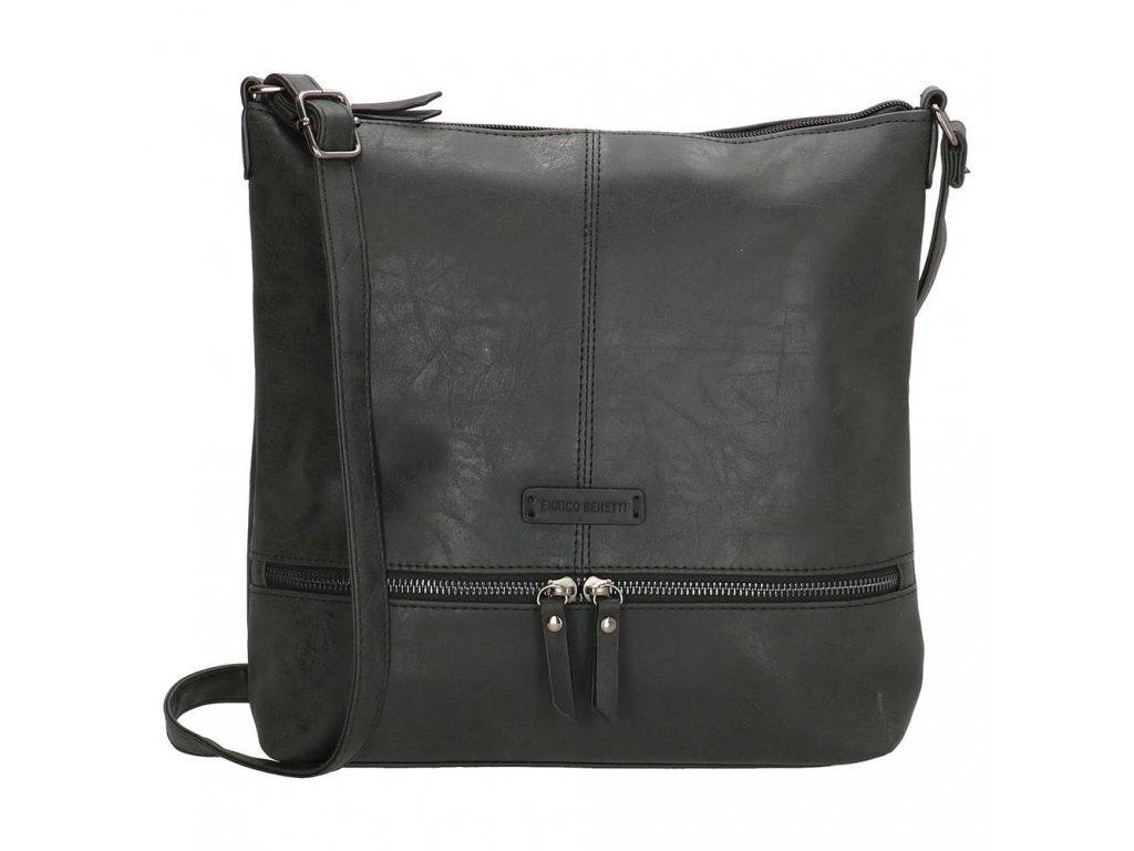 Dámská taška na rameno ENRICO Benetti Nuoméa - černá