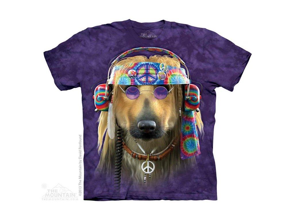 Tričko Hippie Pesan