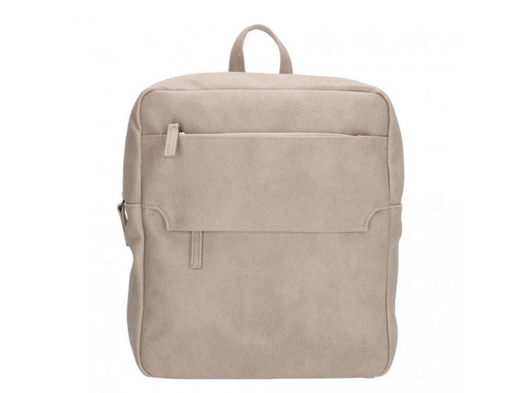 Dámský batoh Coluns Beagles - světle šedý