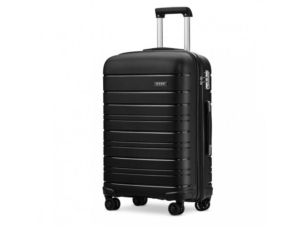 Cestovní kufr na kolečkách Classic Collection - černý