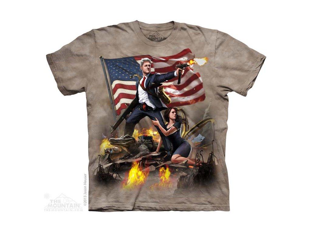 Tričko Bill Clinton USA Prezident - 2017