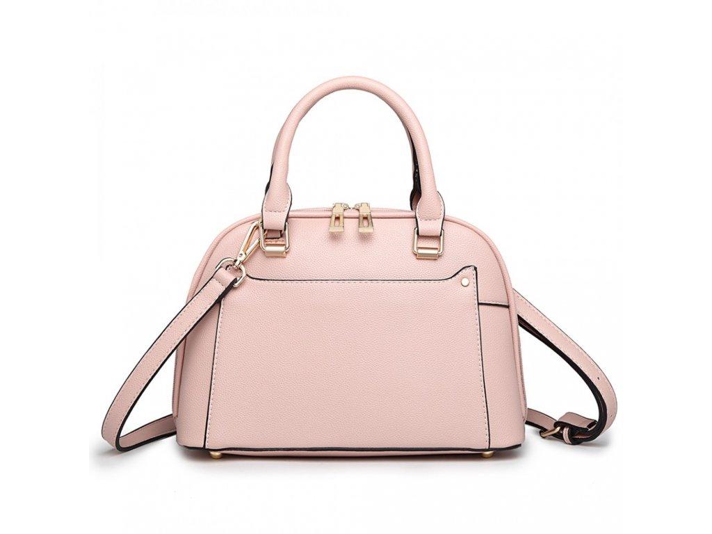 Elegantní crossbody kabelka Zara - růžová