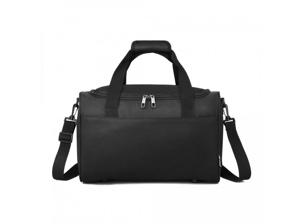 Příruční cestovní taška Kono Oxford - černá