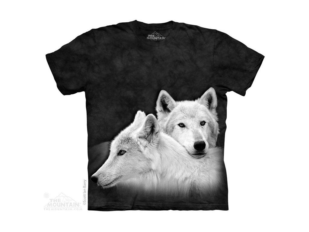 Tričko Dva Bílí Vlci - 2017