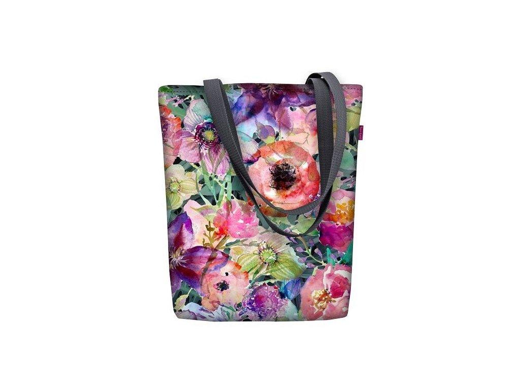 Dizajnová taška na rameno Sunny - Flora