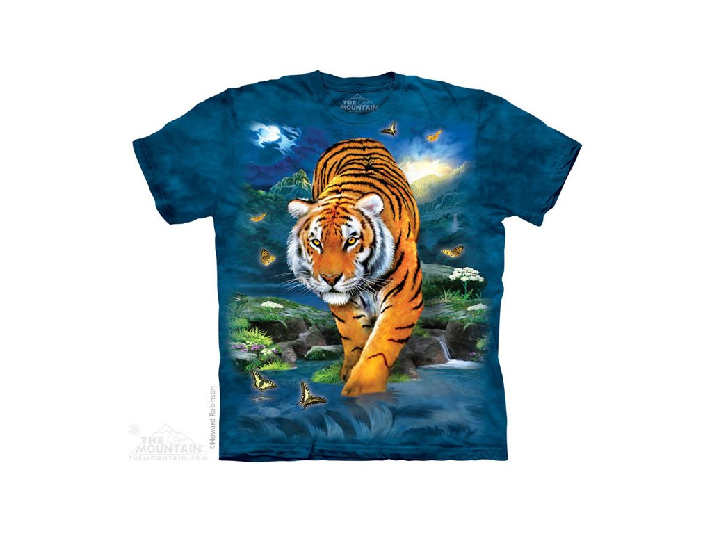 Tričko 3D Tygr - Dětské