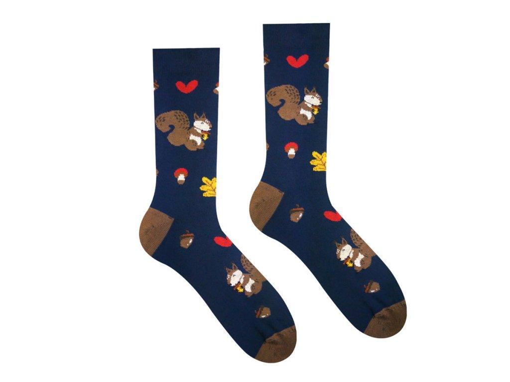 Ponožky Veverka