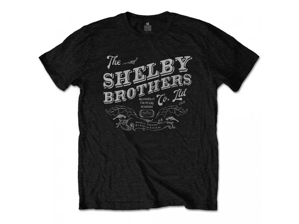 Tričko Peaky Blinders (Gangy z Birminghamu) THE SHELBY BROTHERS