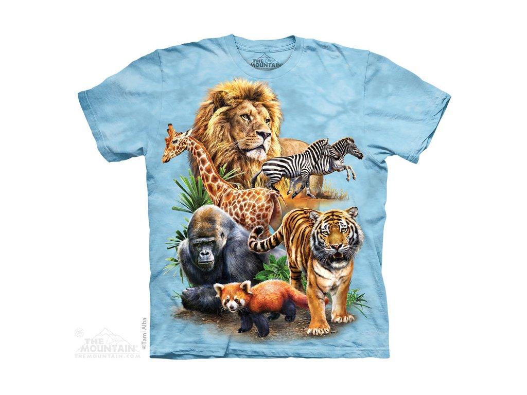 Tričko Zoo Koláž