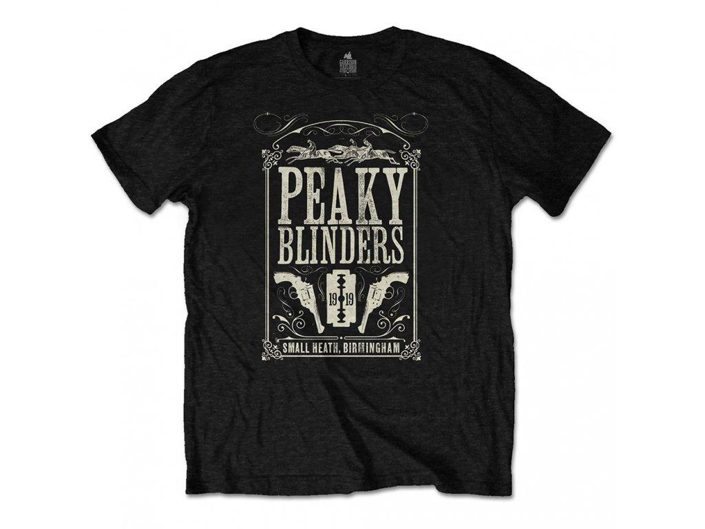 Tričko Peaky Blinders (Gangy z Birminghamu)