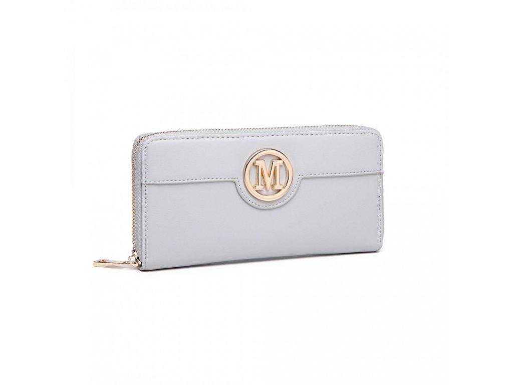 Dámská peněženka Miss Lulu Michaela - šedá