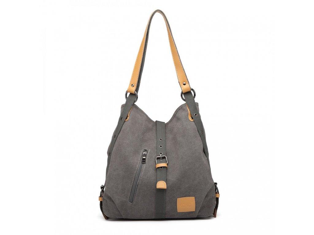Taška a batoh v jednom Savannah Kono - šedá