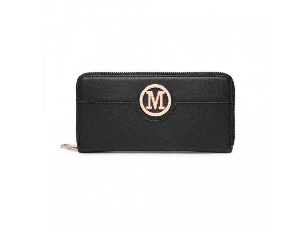 Dámská peněženka Miss Lulu Michaela - černá