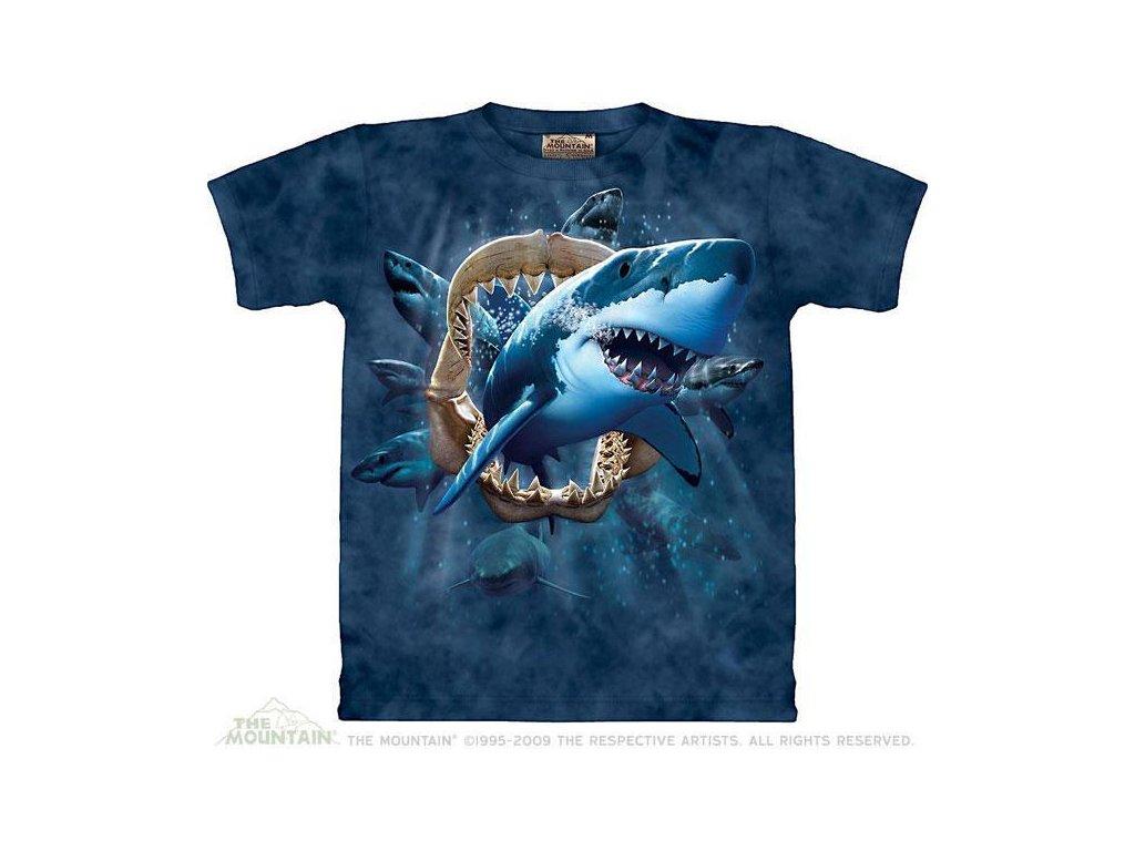 Tričko Žraloci útočí - Shark Attack - Dětské