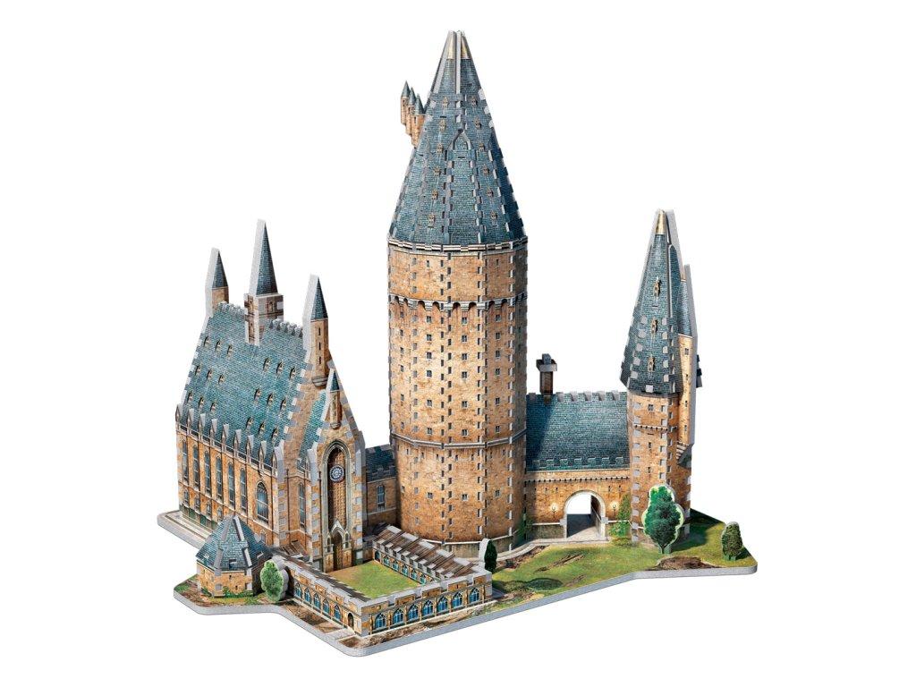 Harry Potter 3D Puzzle: Bradavice - Velký sál, 850 dílků