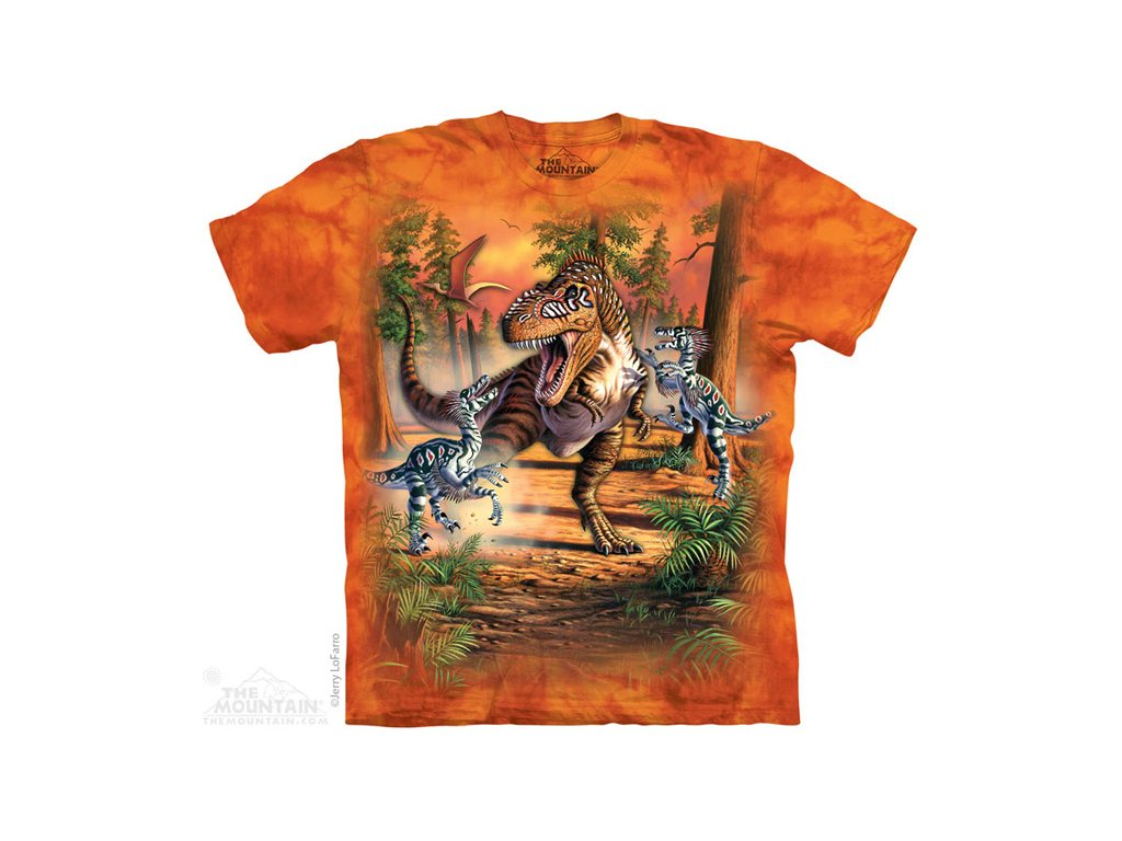 Tričko Dinosauří Bitva