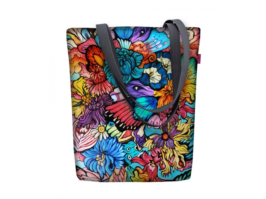 Dizajnová taška na rameno Sunny - Hippie