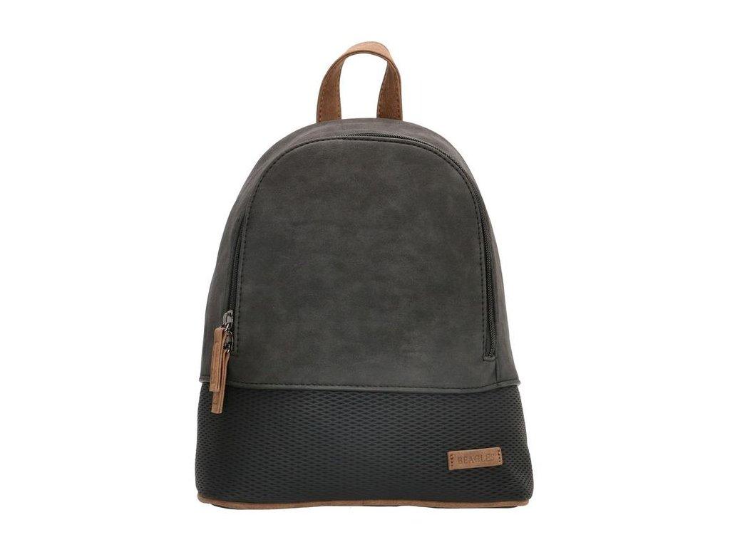 Dámský elegantní batoh Beagles Brunete - černý