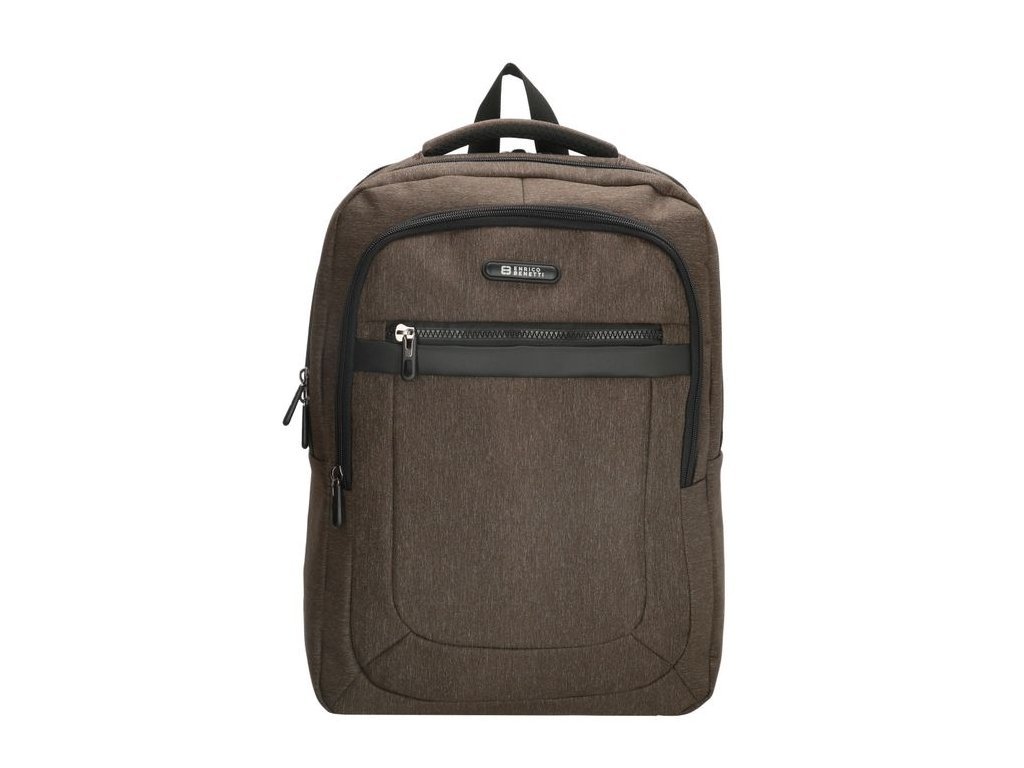 Pánský laptop batoh Enrico Benetti Belfast 14 inch (36 cm) - hnědý