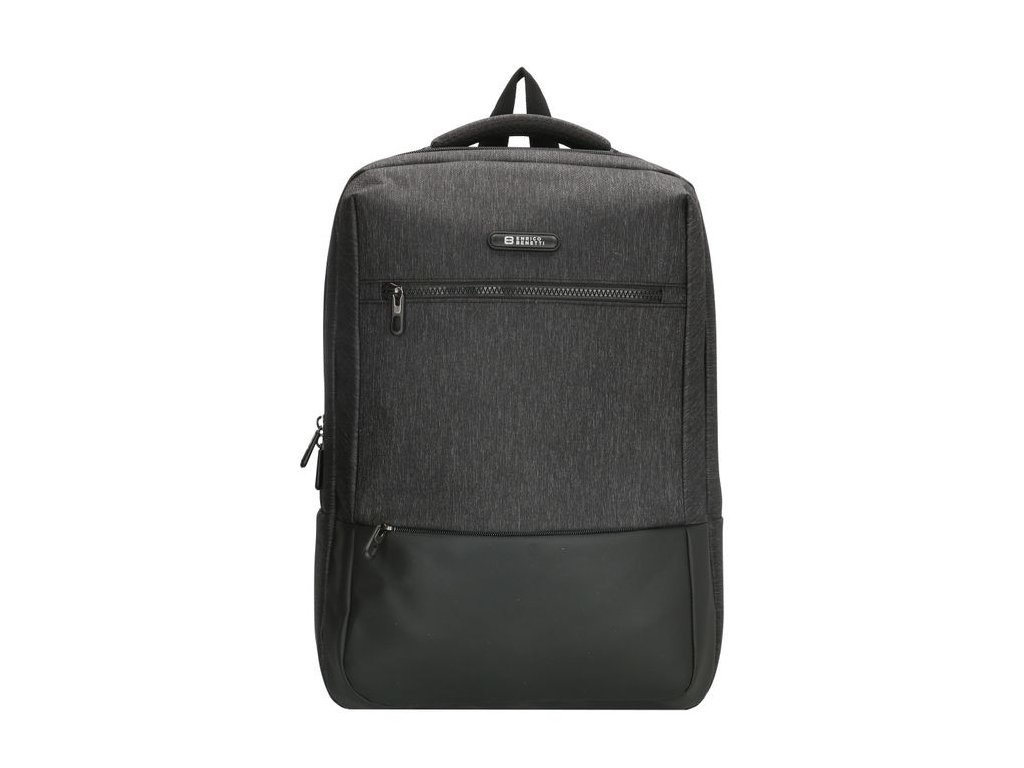 Pánský laptop batoh Enrico Benetti Belfast 15,6 inch (38 cm) - černý