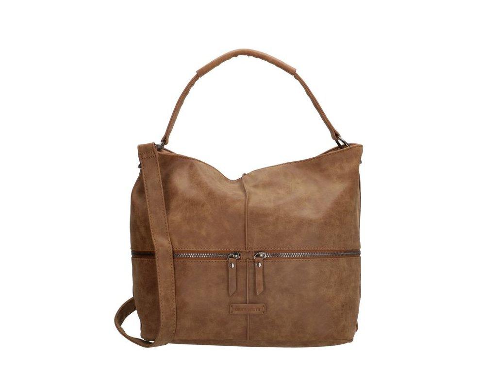 Dámská taška na rameno Enrico Benetti Julia - camel