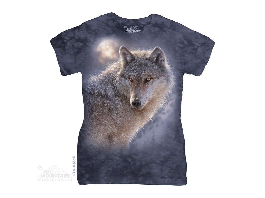 Dámské Tričko Vlk Dobrodruh