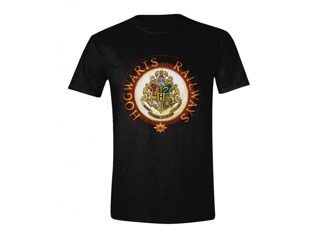 Harry Potter tričko - Hogwards Railways Circle